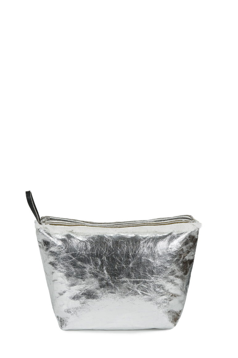 Beauty Case Rib. Dainetto Crac Silver + Frangia Bianca