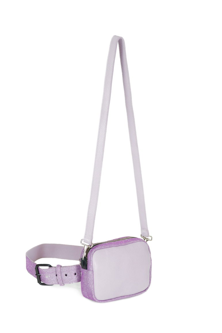 Belt Bag Dollarino Mauve - Glitter Lavanda