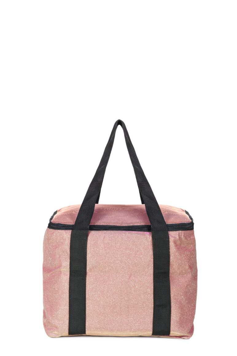 Cooler Med Bag Glitter Rosa