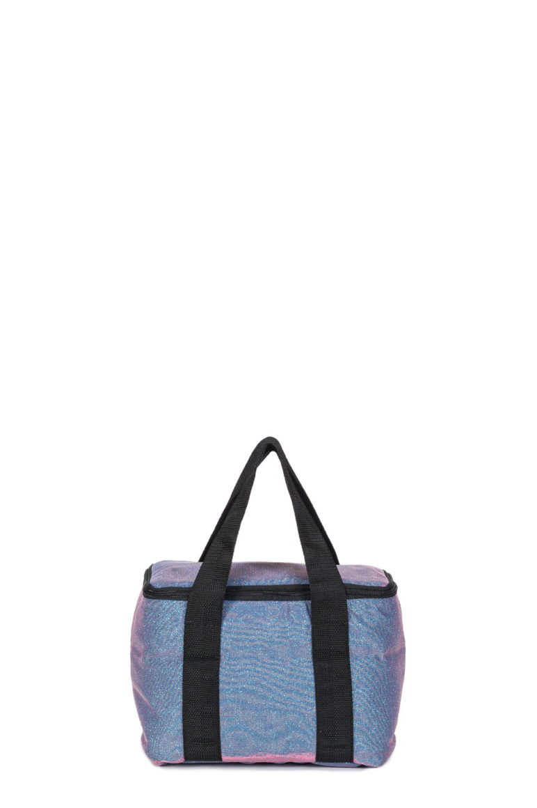 Cooler Small Bag Glitter Blu Stone