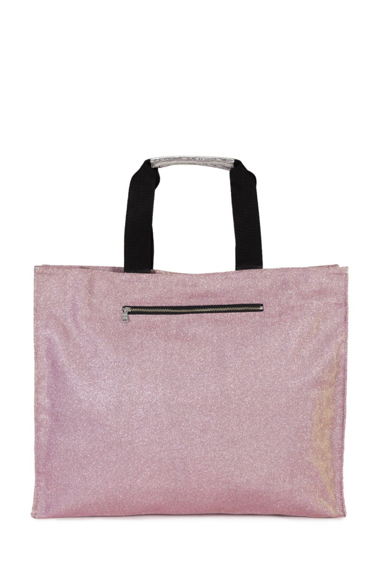 Isabelle Med. Glitter Rosa - Dainetto Crac Silver