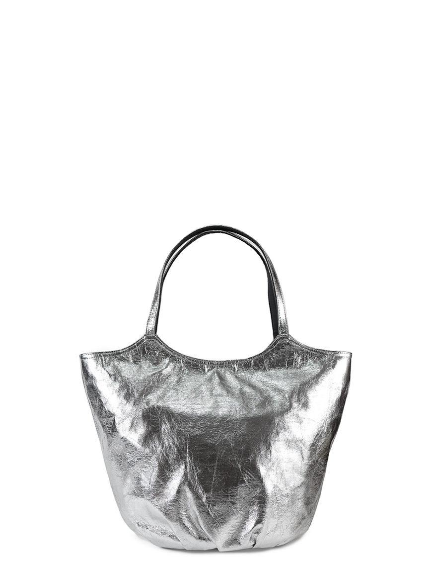 ARMANDO EXTRA Vegan silver leather