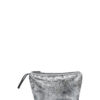 L'AURA beauty case vegan silver leather