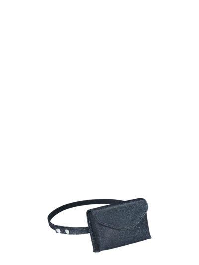 L'AURA mini bag glitter maculato new