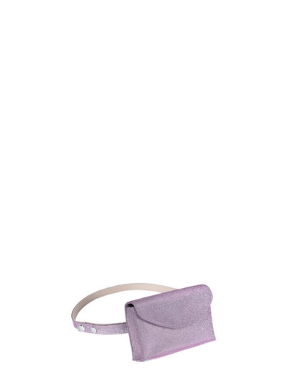 L'AURA mini bag glitter lavanda