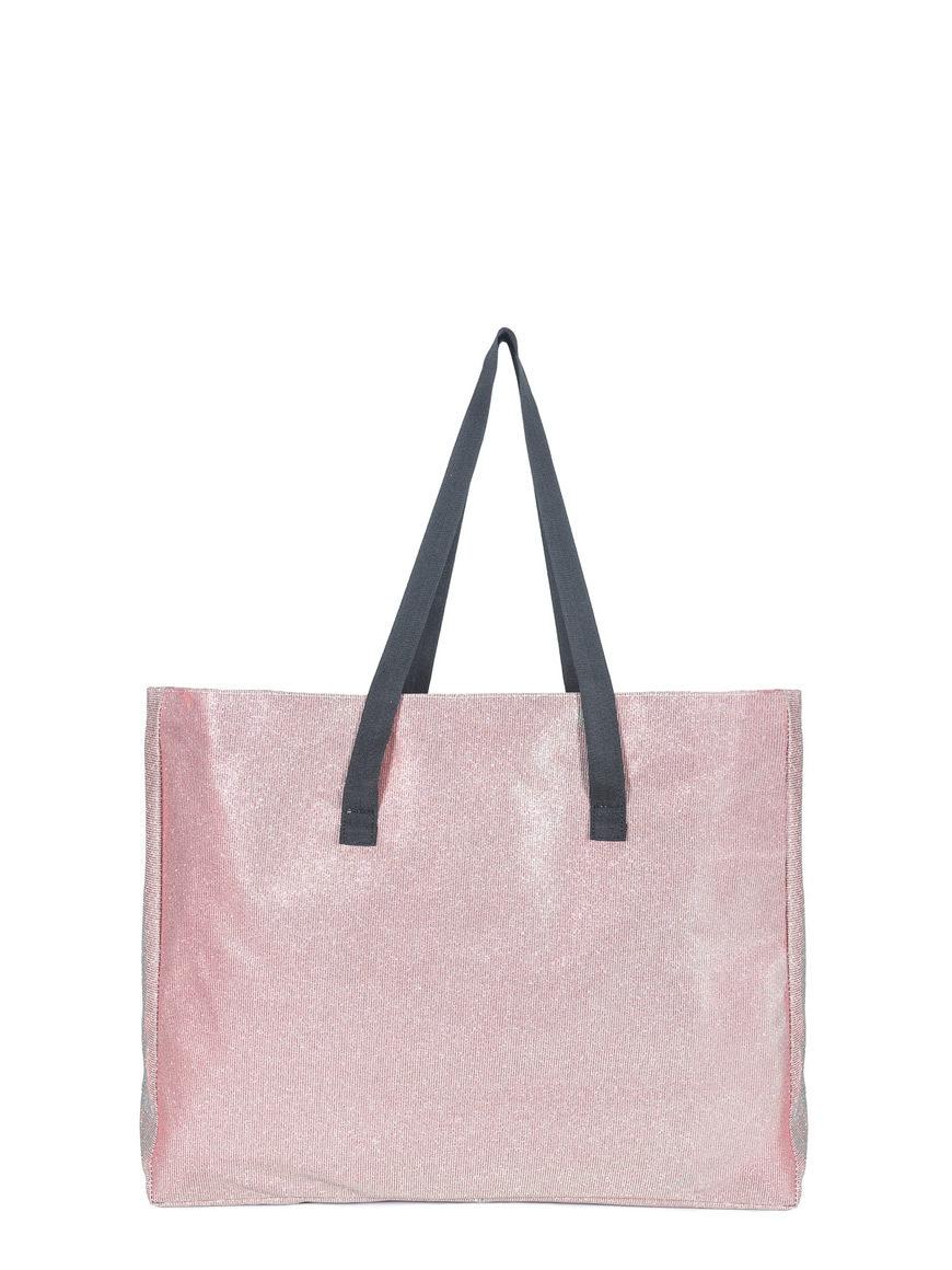L'AURA shopping xl glitter rosa