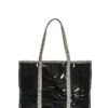 L'AURA SHOPPING EXTRA LARGE JOLLY Glitter maculato new-crystal nero