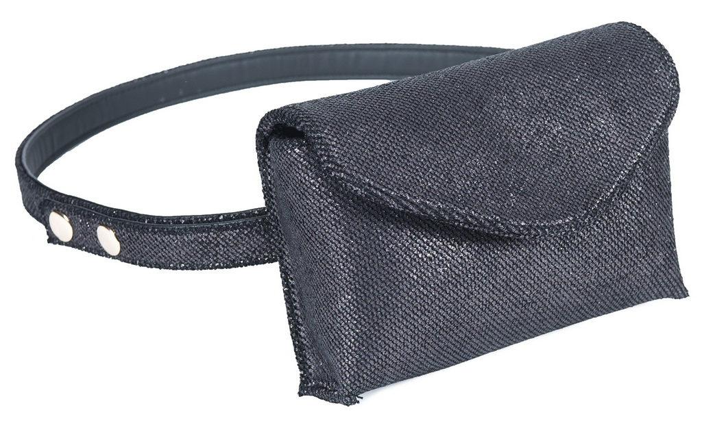 L'AURA mini bag washington grigio