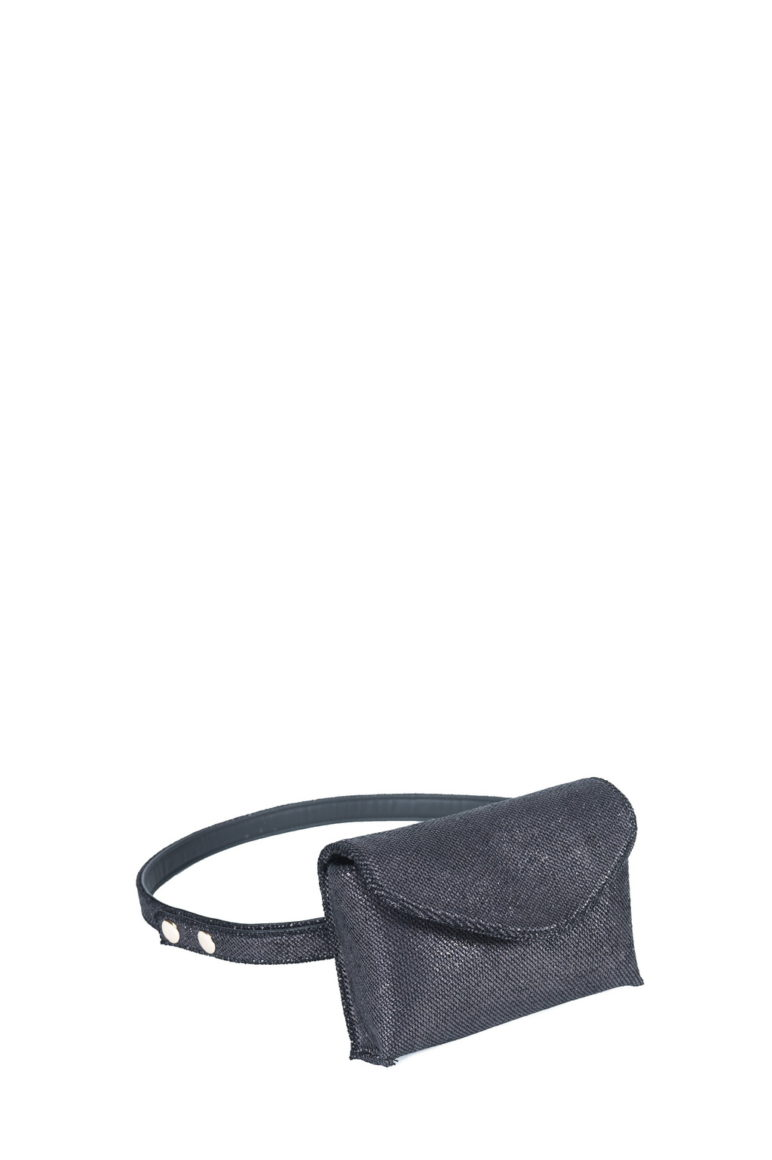 L'AURA mini bag washington grigio