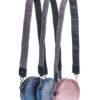 L'AURA disco small trac glitter las vegas rosa-tracolla glitter multicolor