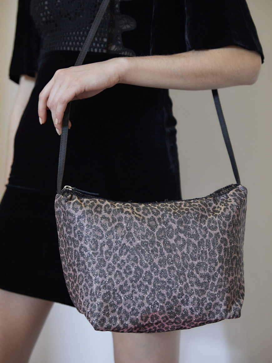 l'aura modella beauty case sh paillette glitter leopardino rosa-3