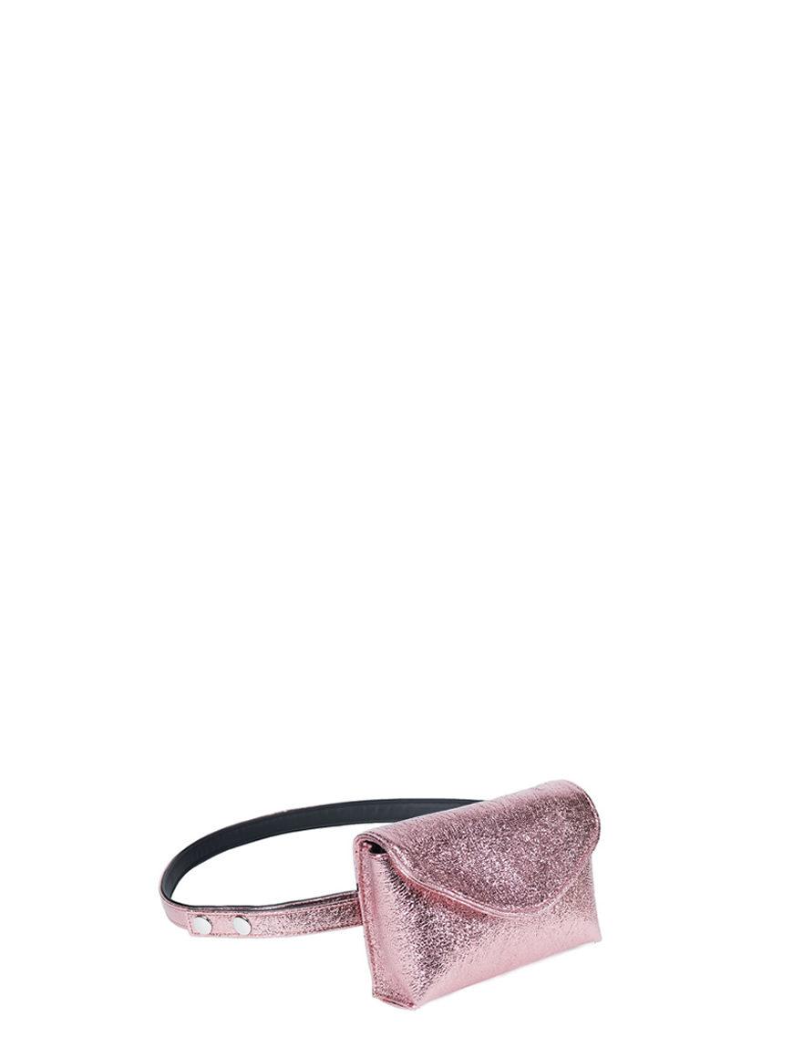 L'AURA mini bag vegan leather rosa