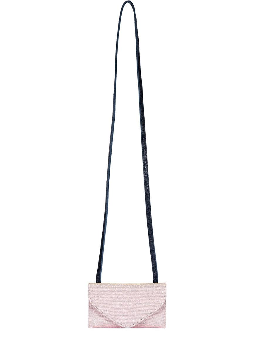 L'AURA purse big sh glitter rosa