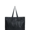 L'AURA shopping xl glitter nero
