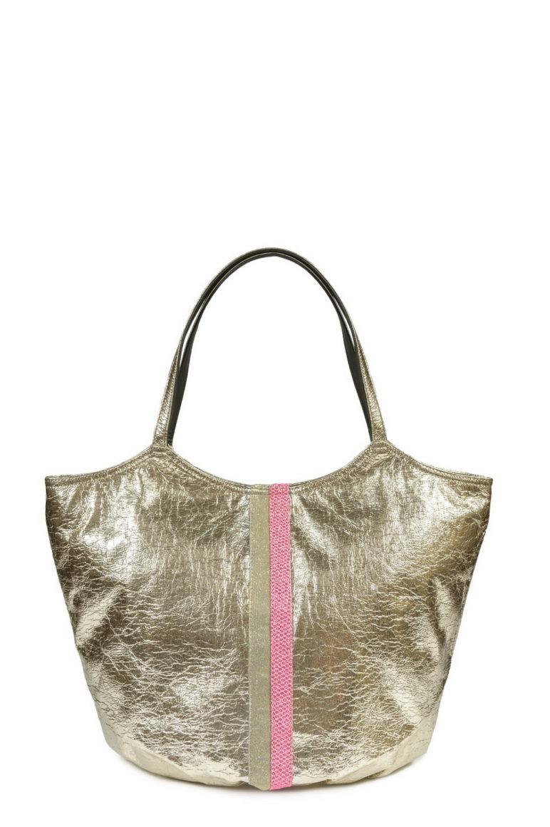 L'AURA armando extra stripes las vegas platino + stripes glitter rete rosa fluo-glitter cipria