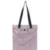 L'AURA shopping small glitter rosa con personalizzazione