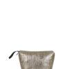L'AURA beauty case vegan gold leather