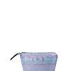 L'AURA beauty case personalizzato glitter tie dye