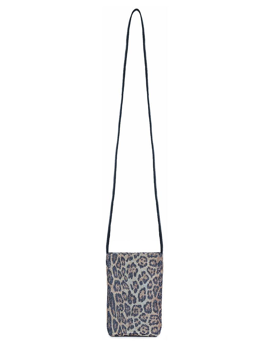 L'AURA party bag sh glitter maculato new