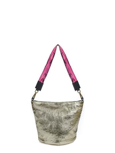 L'AURA sac trac.60 las vegas platino + trac fluo pyton rosa