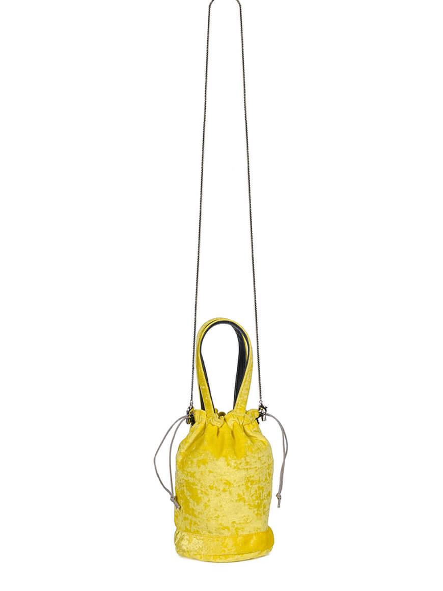 L'AURA orlando new handle velluto giallo