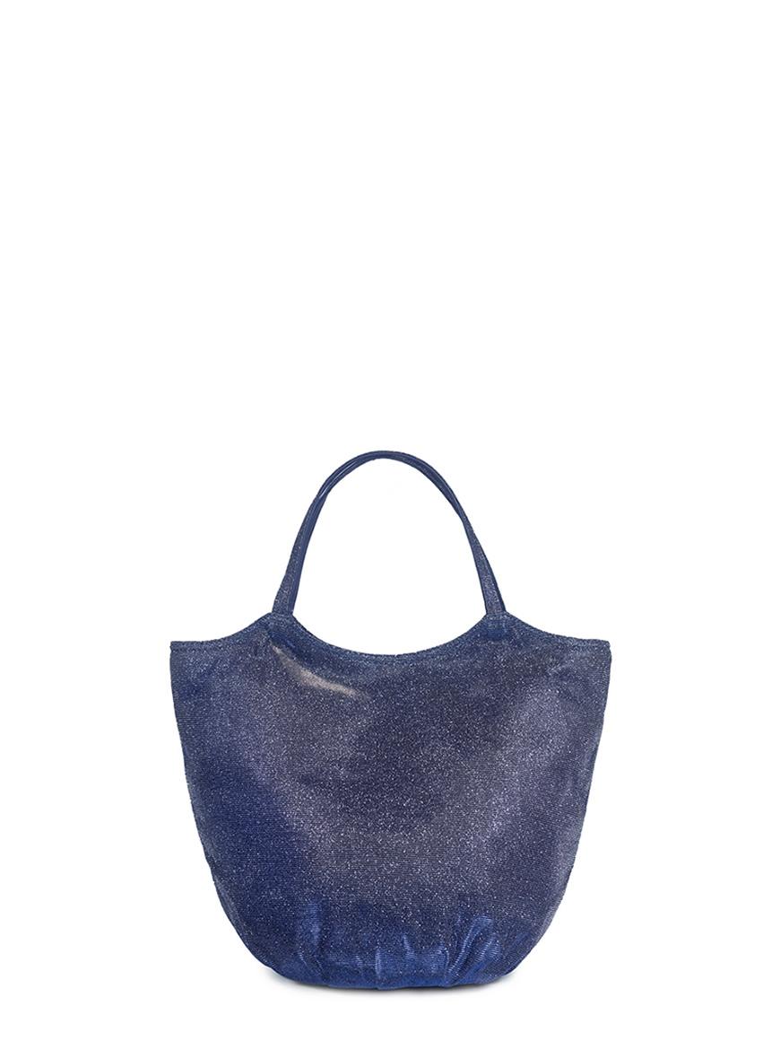 L'AURA armando medium glitter blu brown
