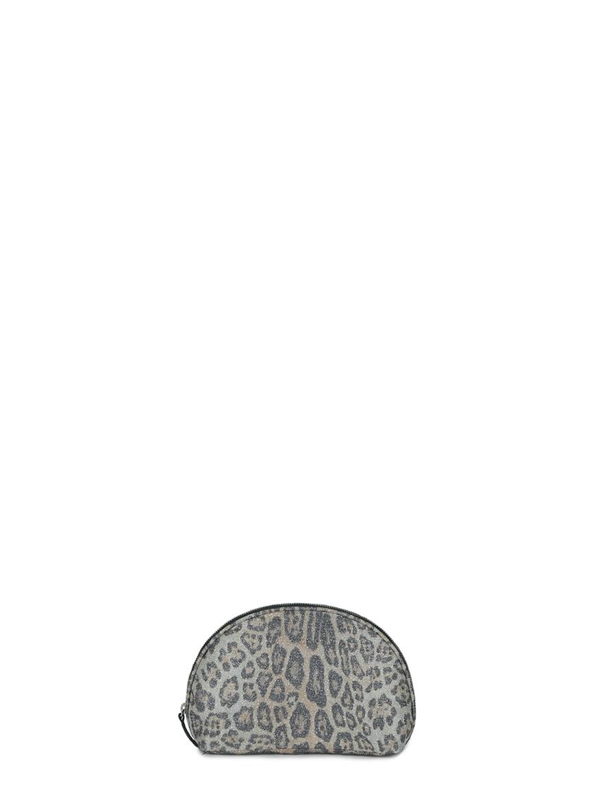 L'AURA make up bag glitter maculato new