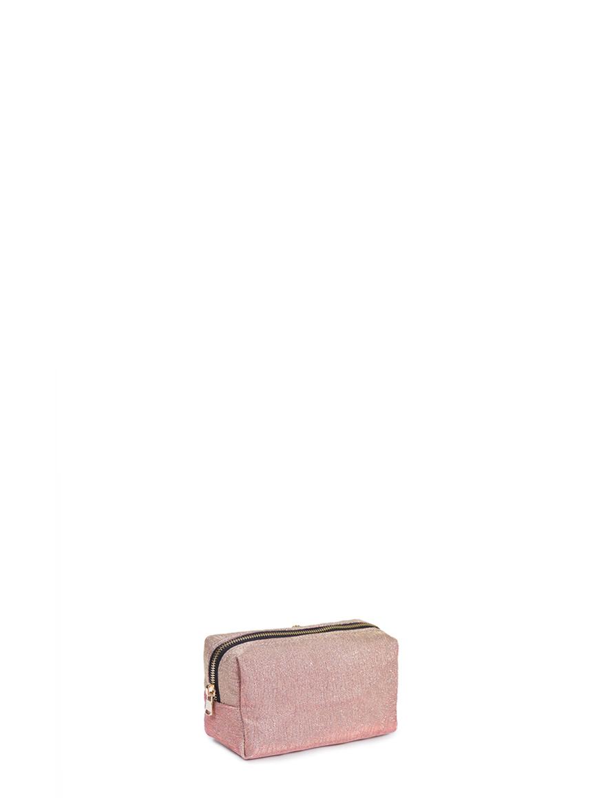 L'AURA ASTUCCIO Glitter onda rosa